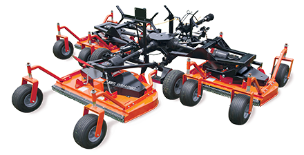 Flexwing Finish Mowers